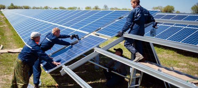 269 MW of renewable energy power was installed in Ukraine for the first half of 2018