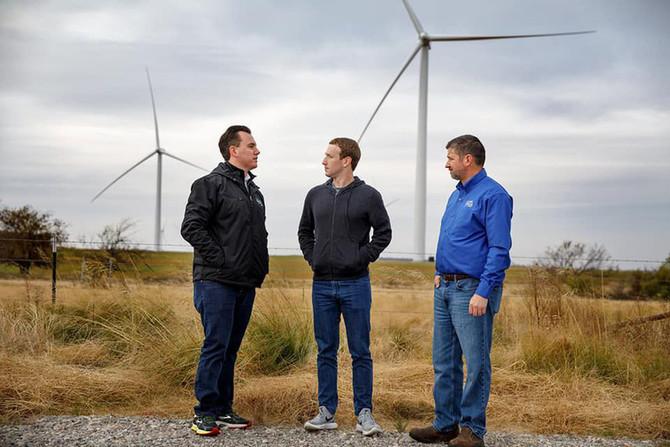 Facebook купив 294 МВт кластер норвезьких вітрових електростанцій