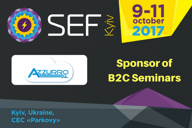 Zucchetti Centro Sistemi joins SEF-2017 KYIV as a  Sponsor of B2C Seminars