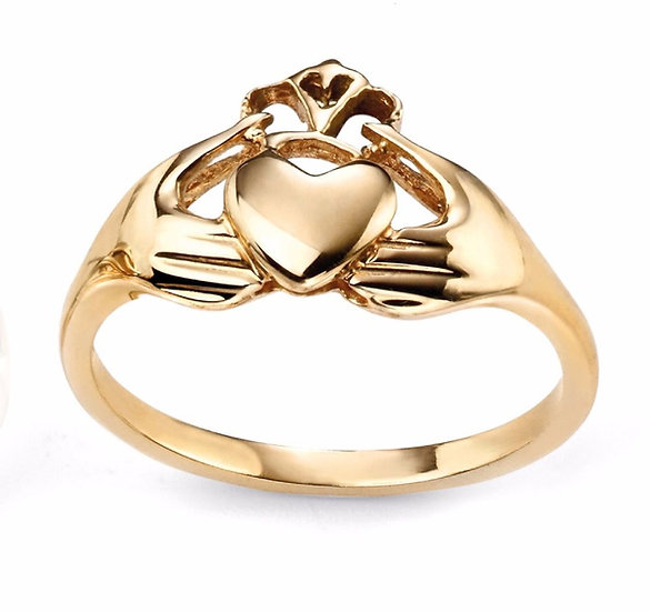 Claddagh Ring , 9ct Gold