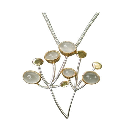 Hedgerow Pendant with Moonstone