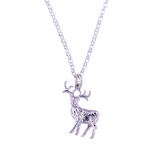 Silver Stag Pendant