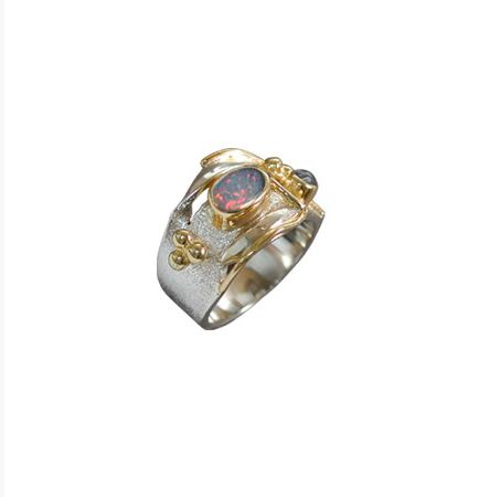 Monet Water Lilies Ring
