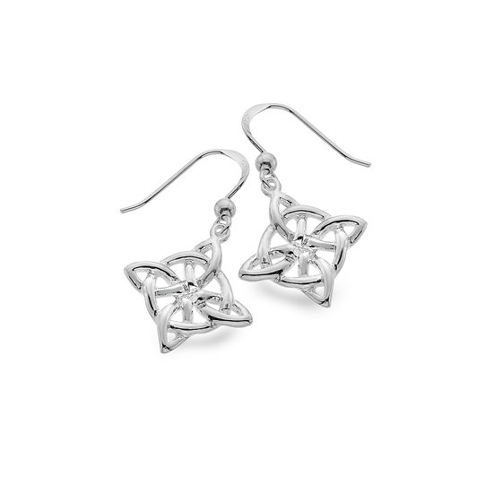 Celtic Loop Knot Earrings, Studs or Drops