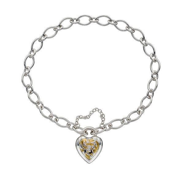 Heart Lock Chain Bracelet