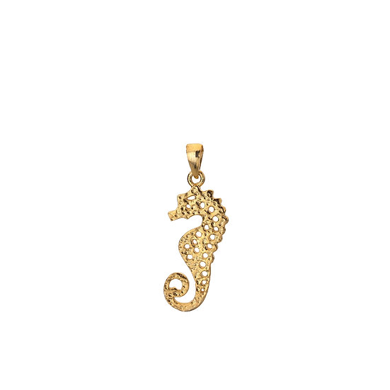 Gold plated Seahorse Pendant