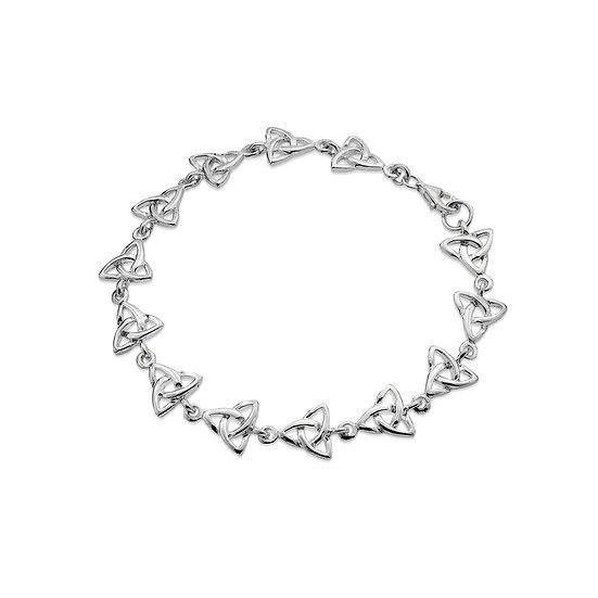 Celtic Trinity Knots Bracelet