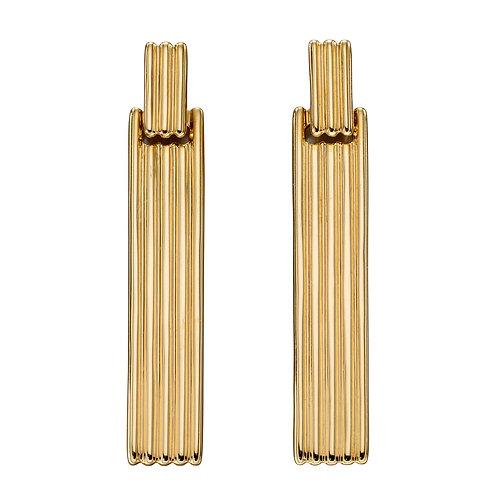 Long Bar Column Earrings