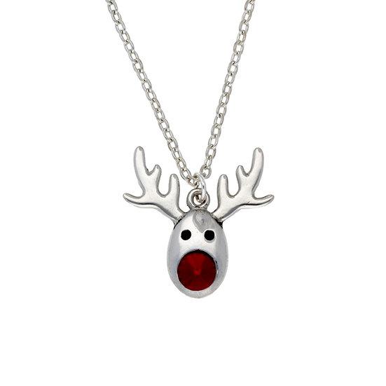 Rudolph crystal pendant