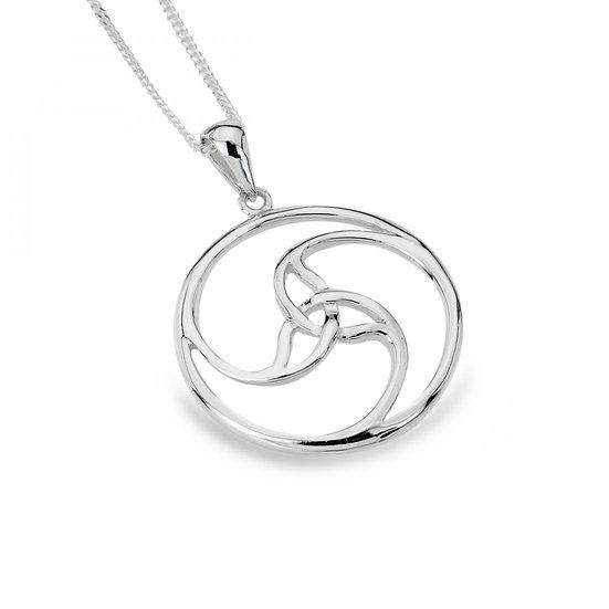 Celtic Trinity Spiral Pendant
