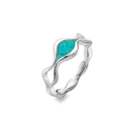 Liquid Turquoise Ring