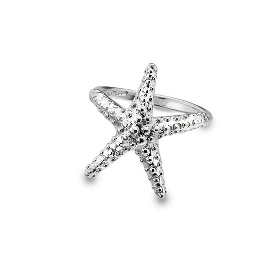 Textured Starfish Ring