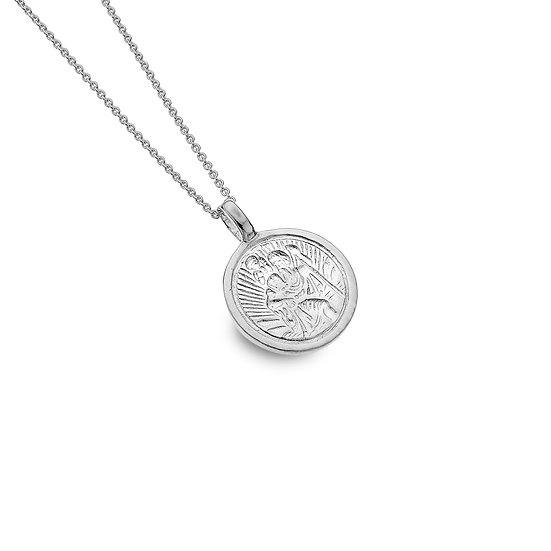 Silver St Christopher Pendant