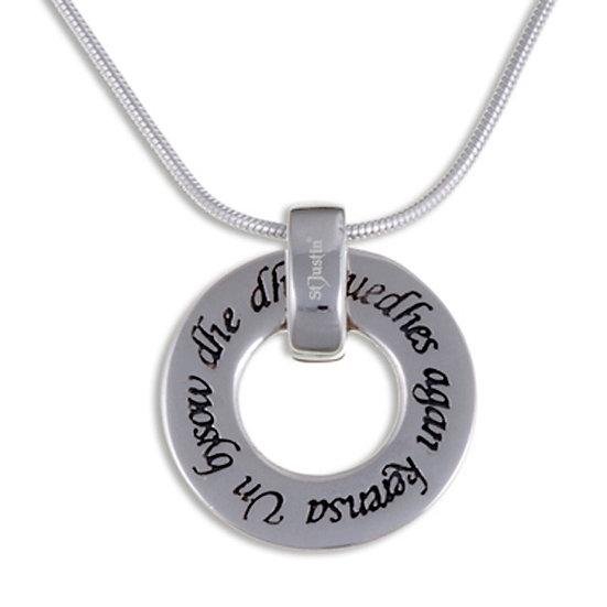 Cornish Love pendant - Silver or Bronze
