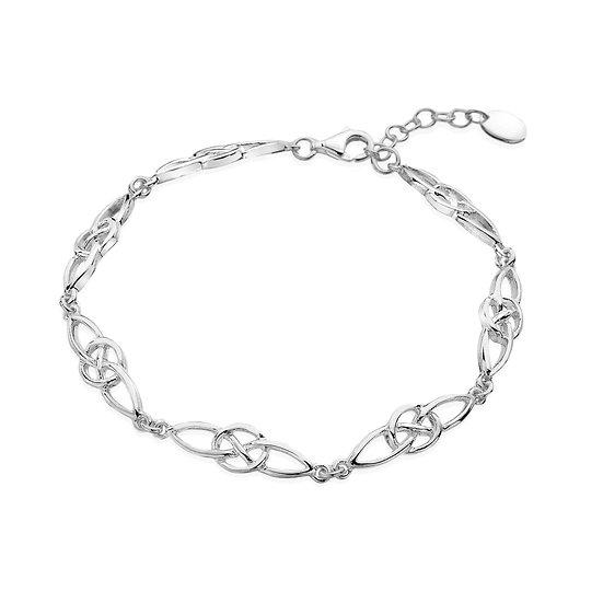 Celtic Figure of Eight Bracelet