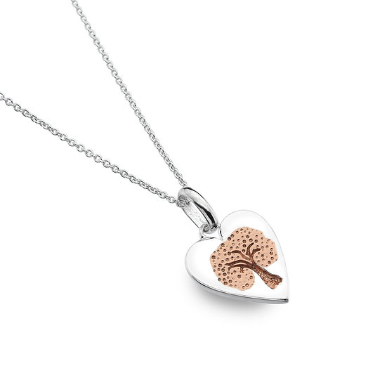 Heart with Tree pendant
