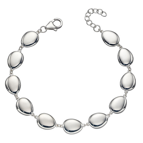 Organic pebble Tennis bracelet