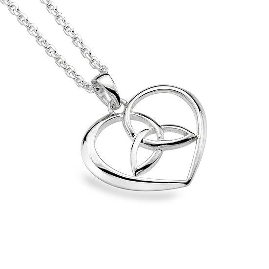 Celtic Trinity Heart Pendant