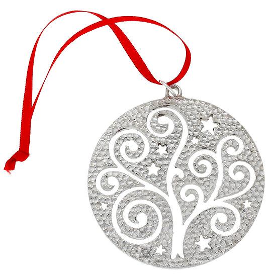 Celtic bauble tree decoration