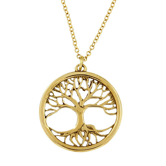 Tree of Life Pendant, Bronze or Silver