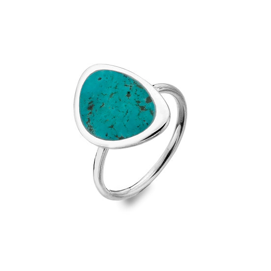 Rockpool Ring, Turquoise or Paua Shell