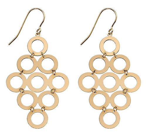 Multi Circle Earrings