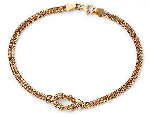 Double Strand Knot Bracelet