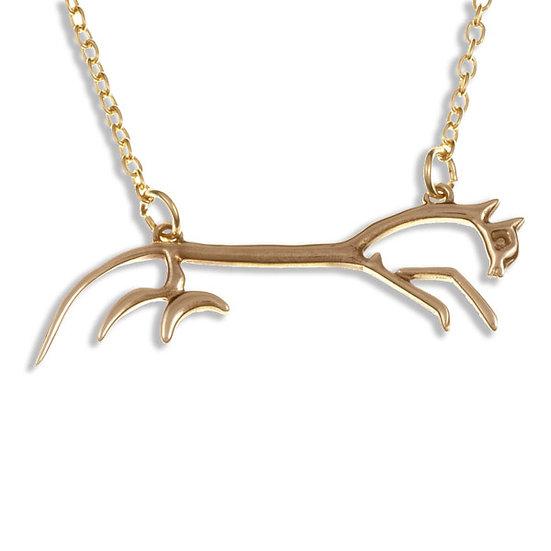Uffington White Horse necklace