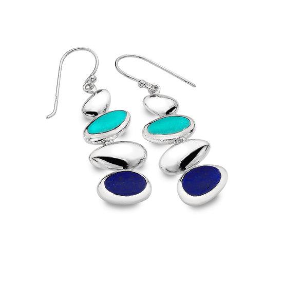 Pebble Bay Earrings, drop or studs