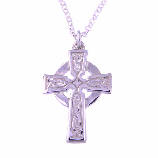 St Petroc cross - Silver