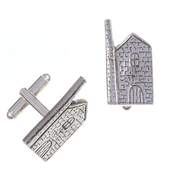 Engine house T-bar cufflinks