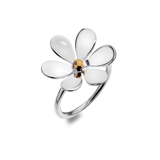Love Me Love Me Not Daisy Ring
