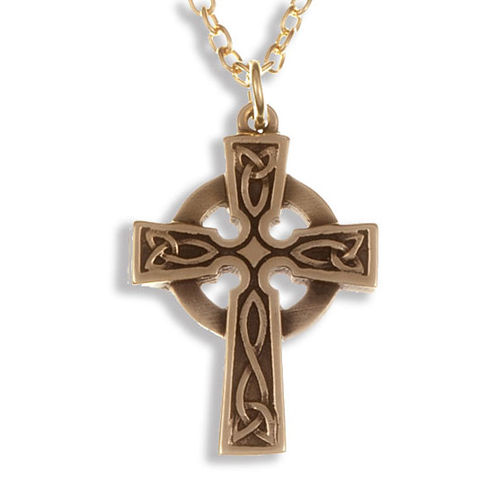 St Petroc cross - Cornish Bronze