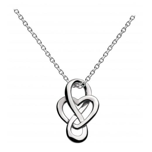 Cara Celtic Looped Heart Pendant