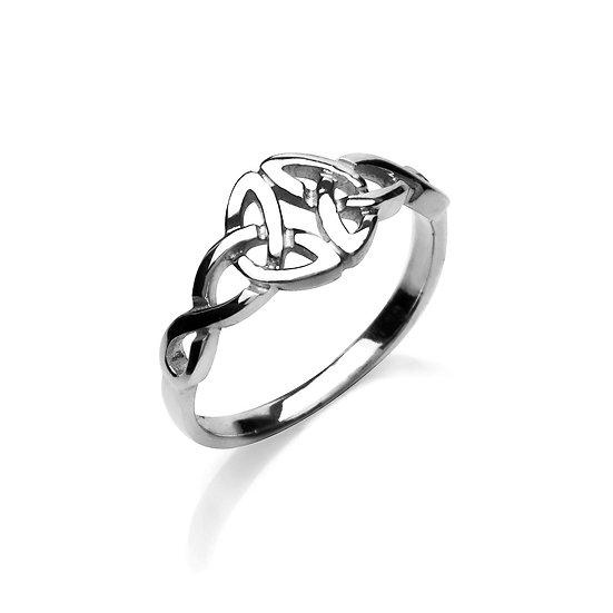 Celtic Trinity Knots Ring