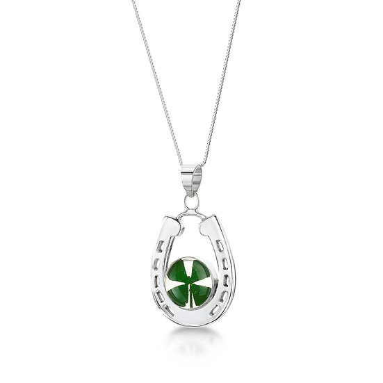 Four Leaf Clover Necklace, Choice of Styles