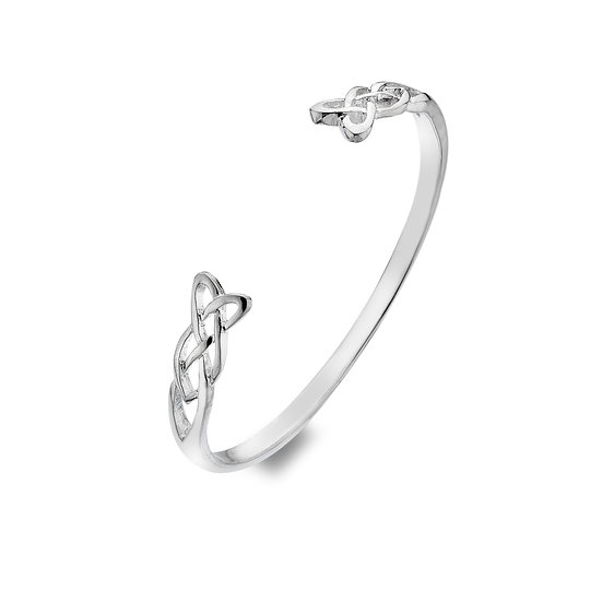 Love Knot Torque Bangle