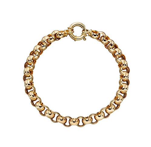 Yellow Gold Link Bracelet