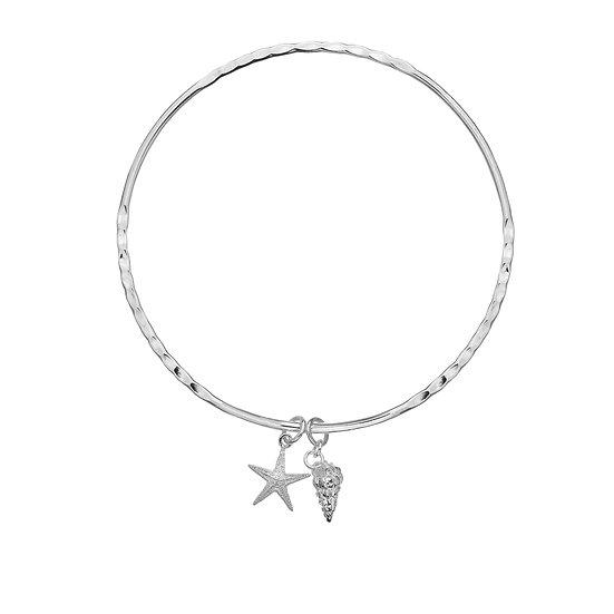Starfish and Wentletrap Bangle