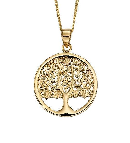 Tree of Life Pendant, 9ct Gold