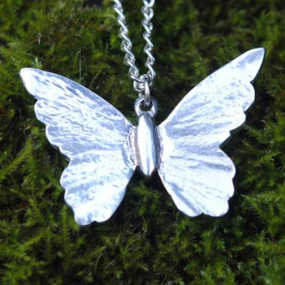 Butterfly Pendant, pewter