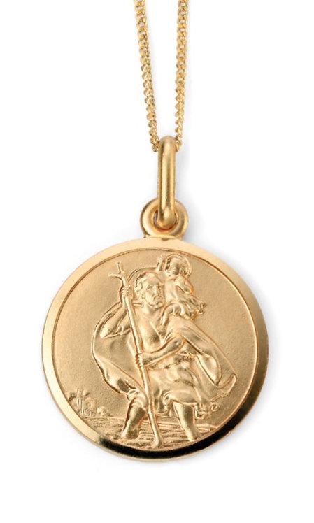 St Christopher Pendant, engravable