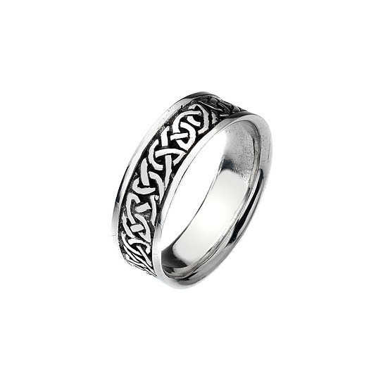 Celtic Loop Knot Ring (Large/Mens)