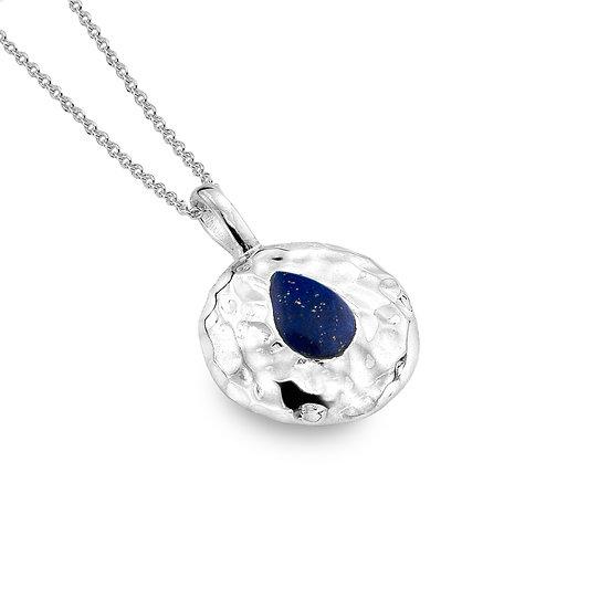 Seaside Pendant, Lapis Lazuli or Turquoise