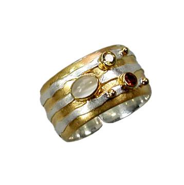 Jupiter Ring with Moonstone