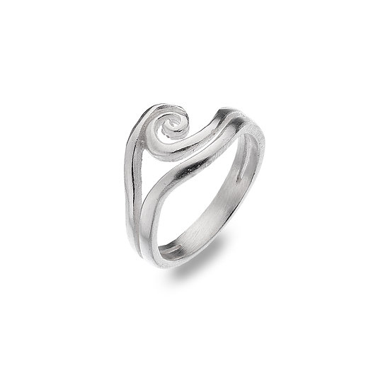 Organic Double Wave Ring