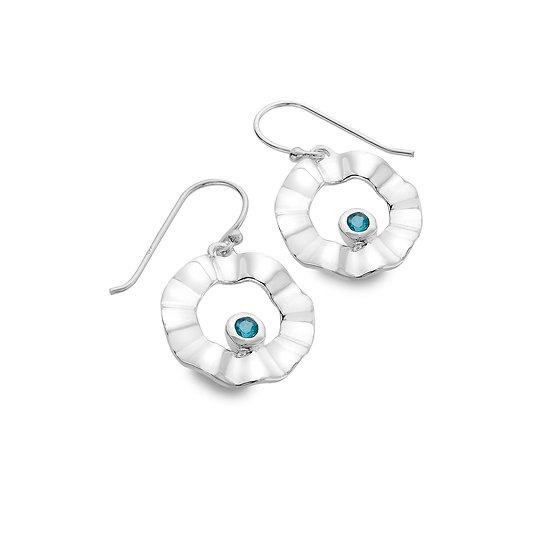 Topaz Cove Drop Earrings