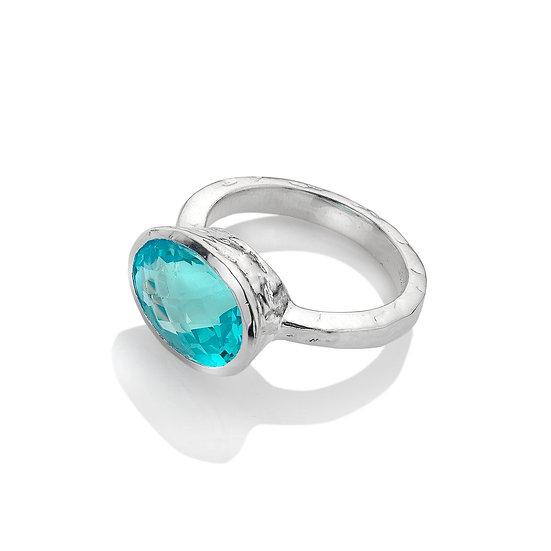 Ocean Soul Topaz Ring