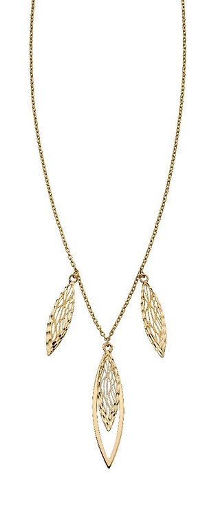 Overlapping Filigree Necklace
