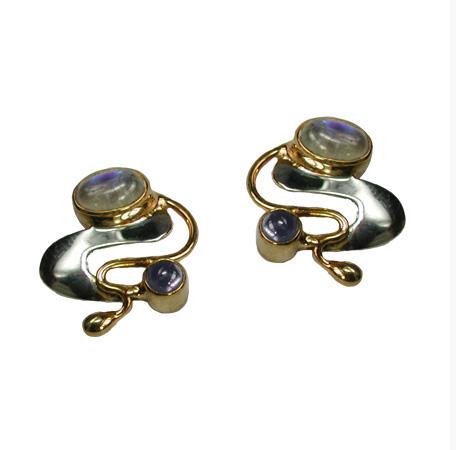 Monet Water Lilies Earrings